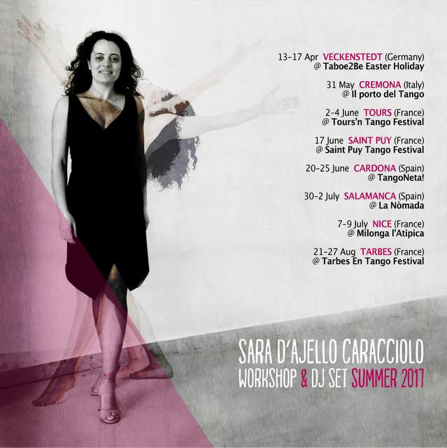 Aires italianos en la 3ª Parada de Tango Nómada