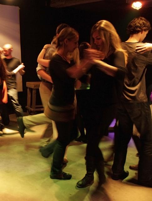 Arrancaron las prácticas de tango