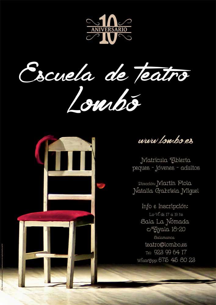 La Escuela de Teatro de Lombó cumple 10 años.