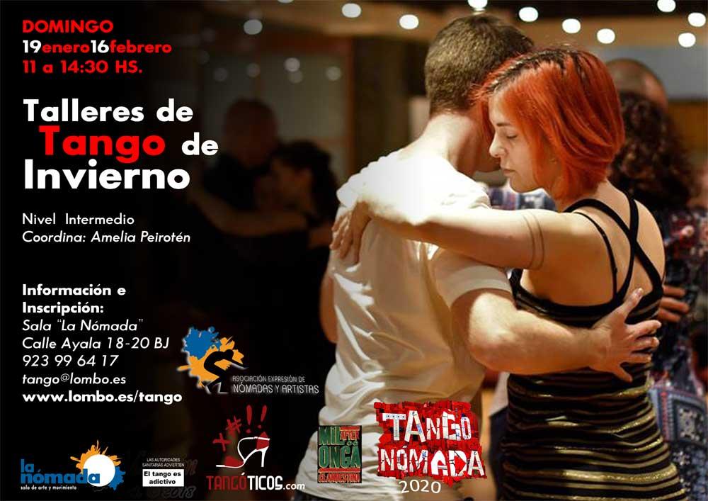 Intensivos de tango de Invierno