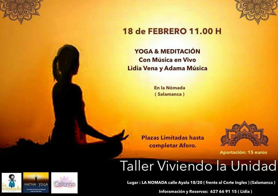 Taller especial de Yoga: Viviendo la unidad