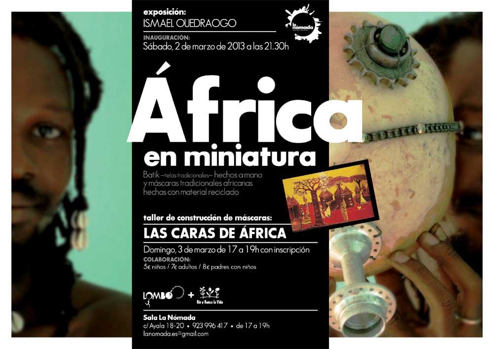 Laboratorio de Máscaras: Las caras de africa
