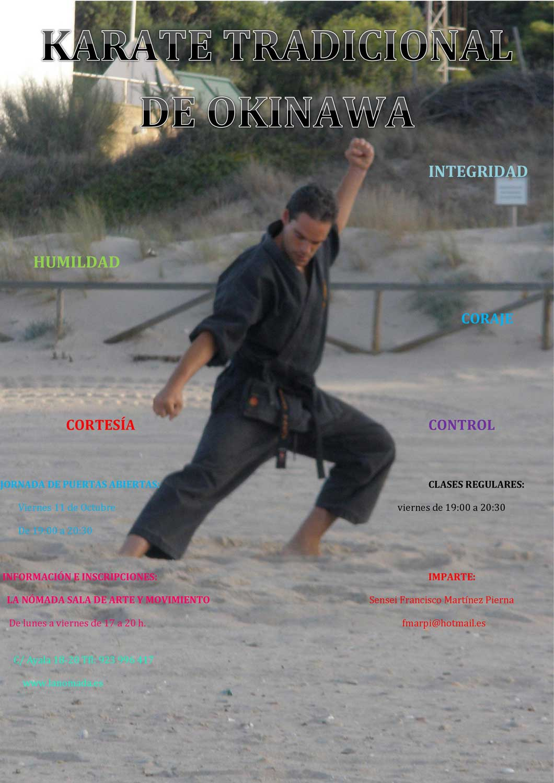 Clases abiertas de artes marciales