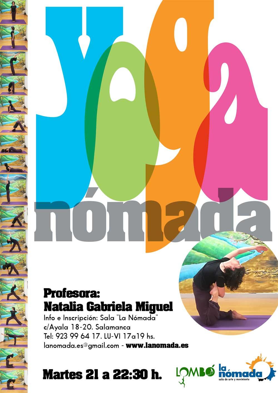 3 últimas plazas para el Yoga Nómada