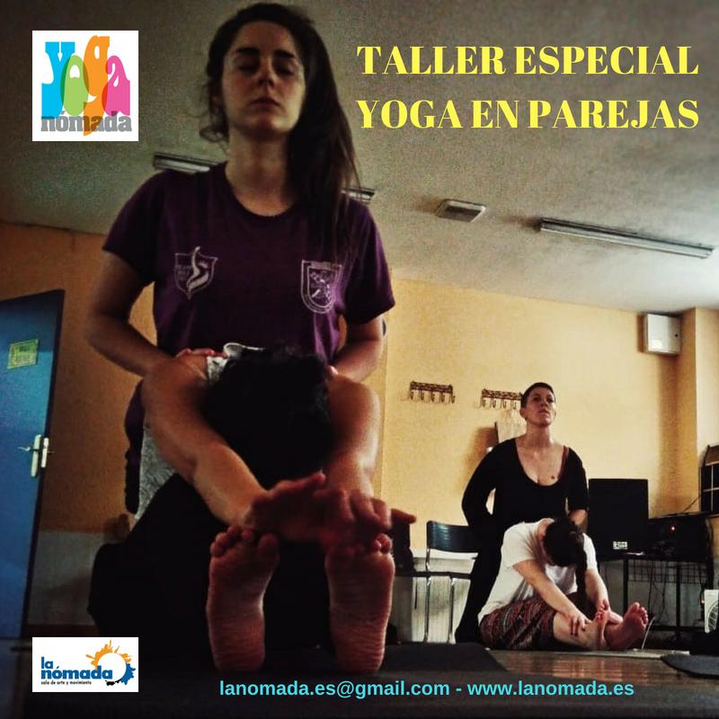 Taller Especial de Yoga en Parejas