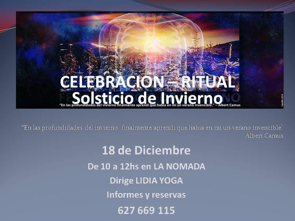 Celebración Ritual Solsticio de invierno