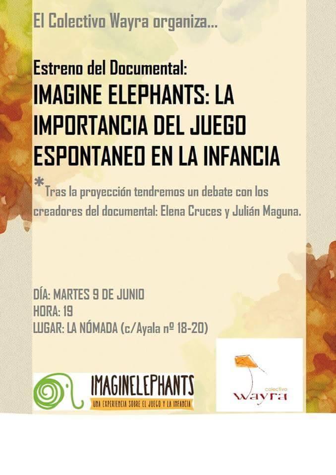 Imagine Elephants: La importancia del Juego espontáneo en la Infancia