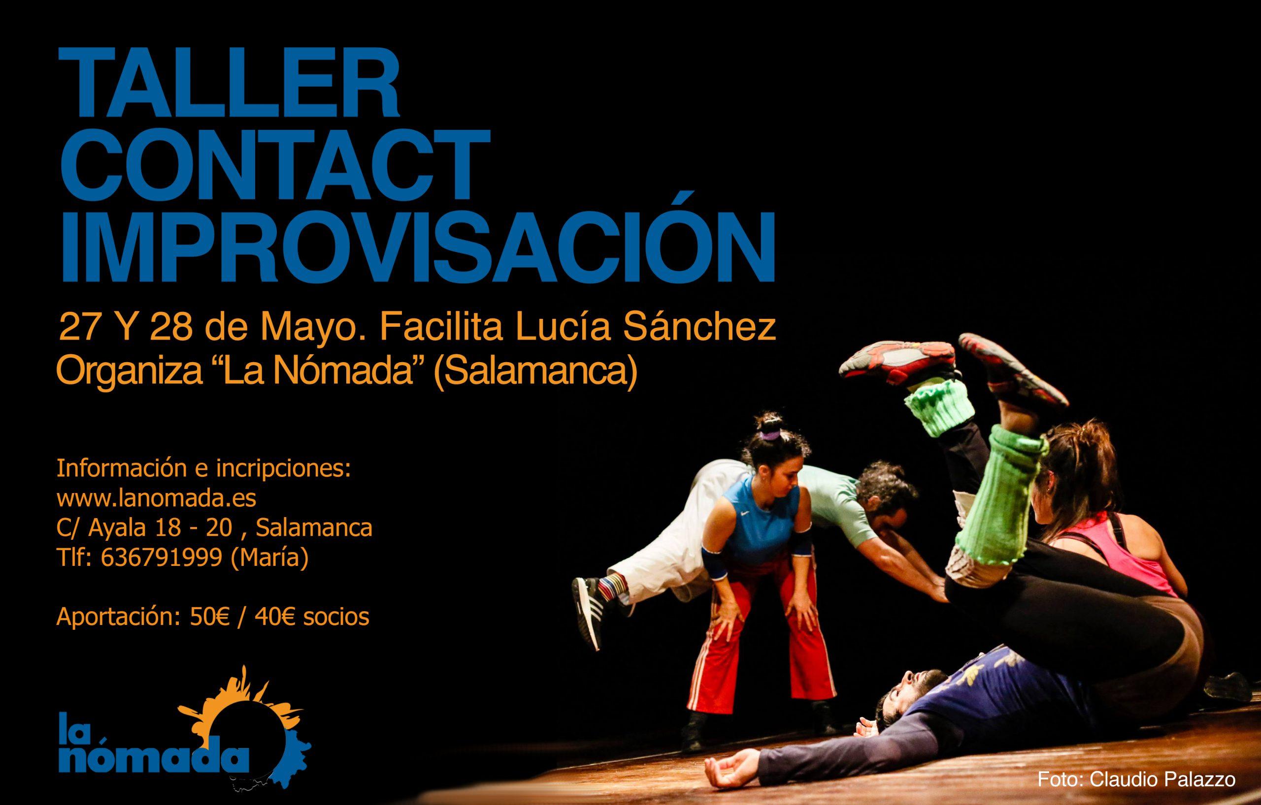 Contact Improvisación: La danza para todos los cuerpos