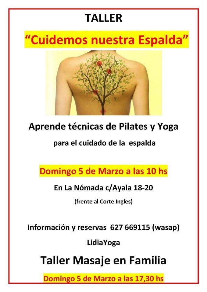 Doble sesión de Lidia Yoga con sus clases especiales!