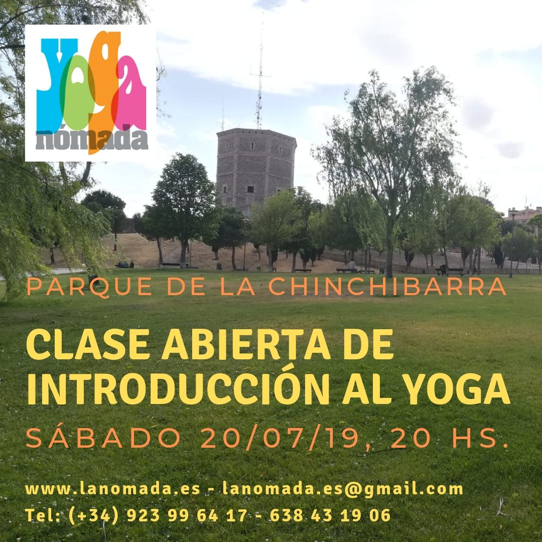 Clase Abierta de Introducción al Yoga