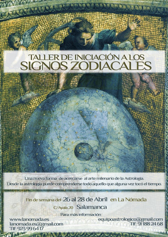 Taller intensivo de Iniciación a los Signos Zodiacales
