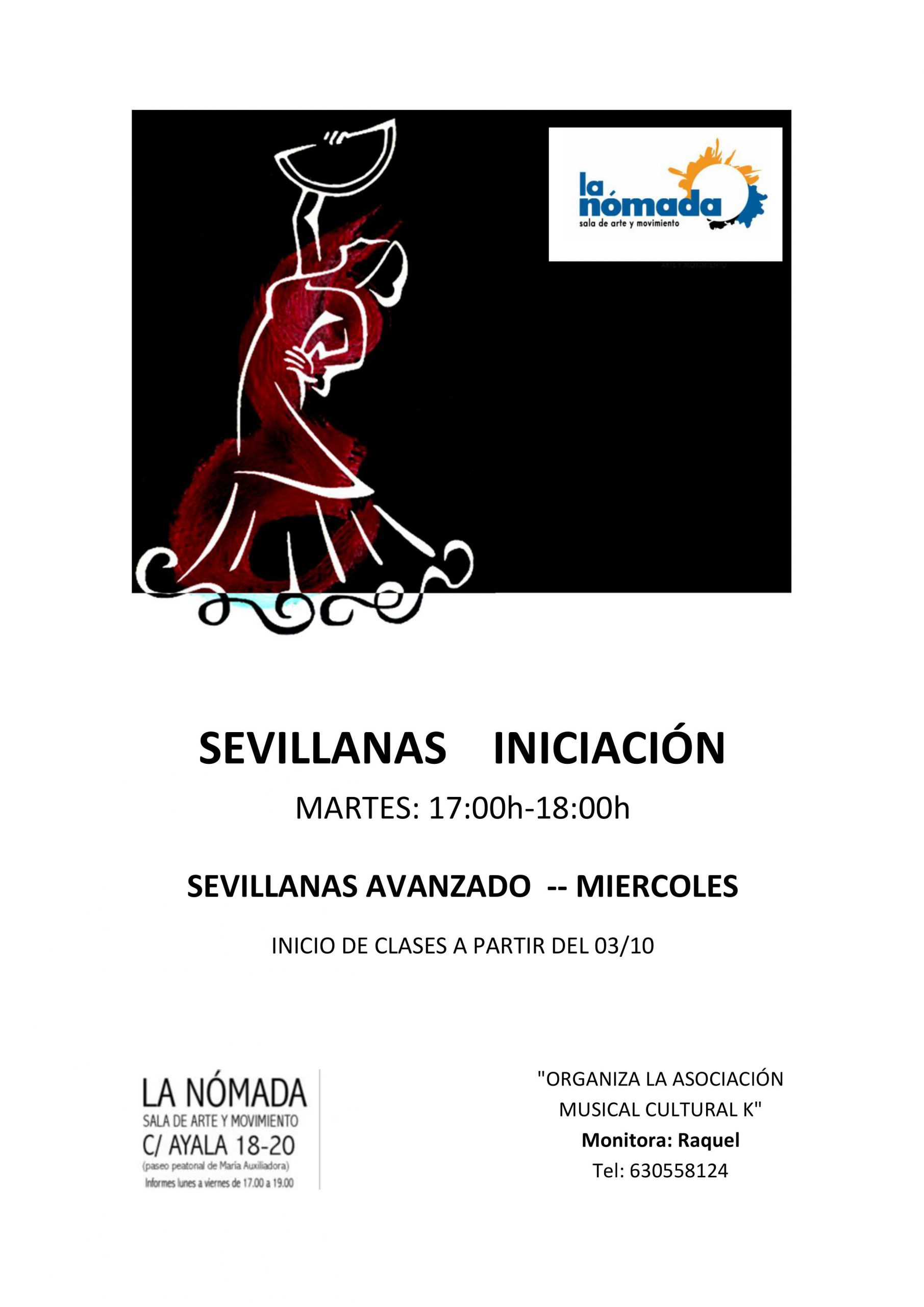 Clases de Sevillanas: Todos los niveles