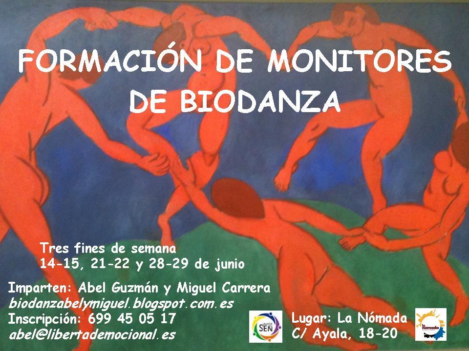 Formación de Monitores de Biodanza. Sistema Javier de la Sen