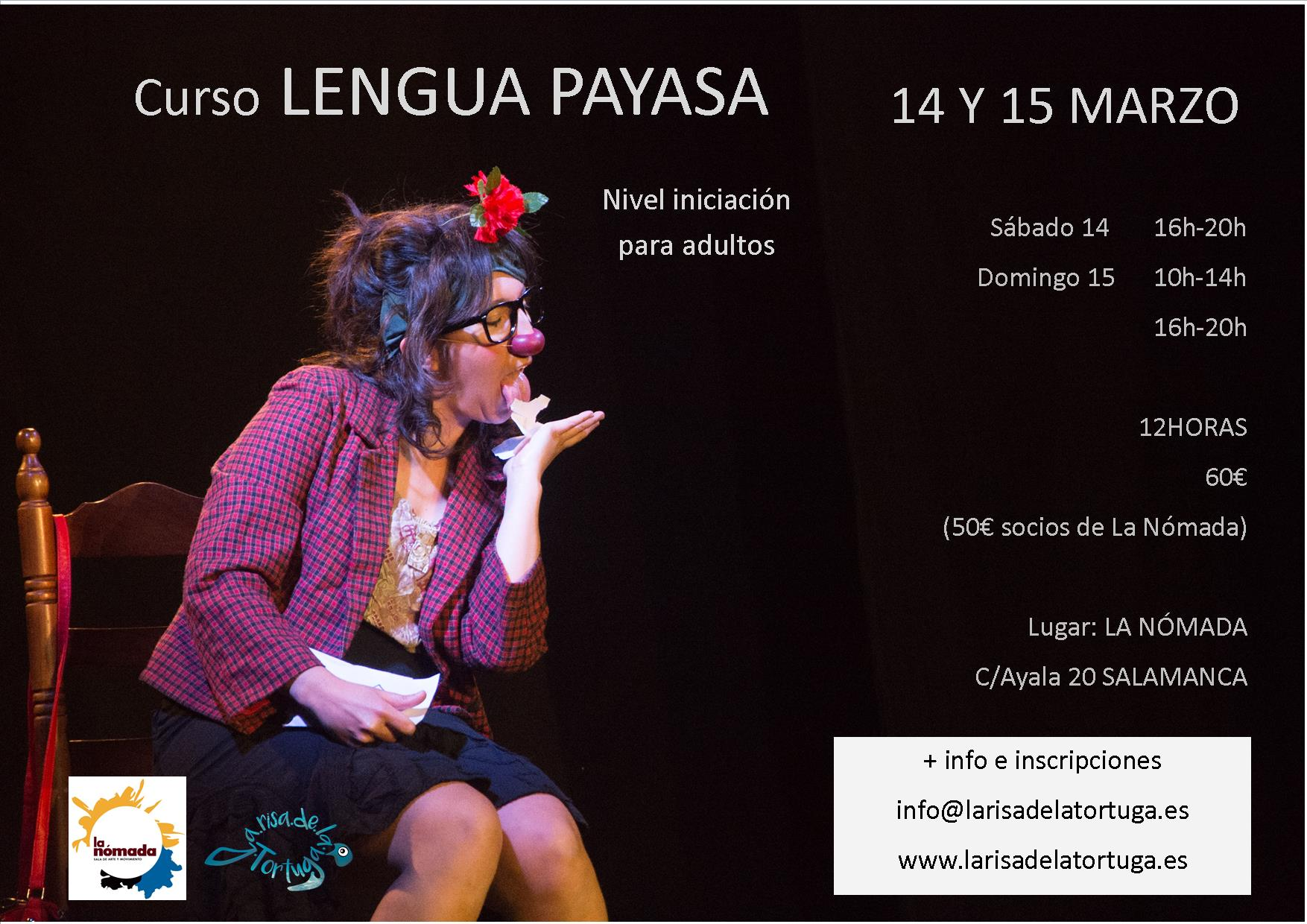 Curso Intensivo de Clown: ''LENGUA PAYASA''