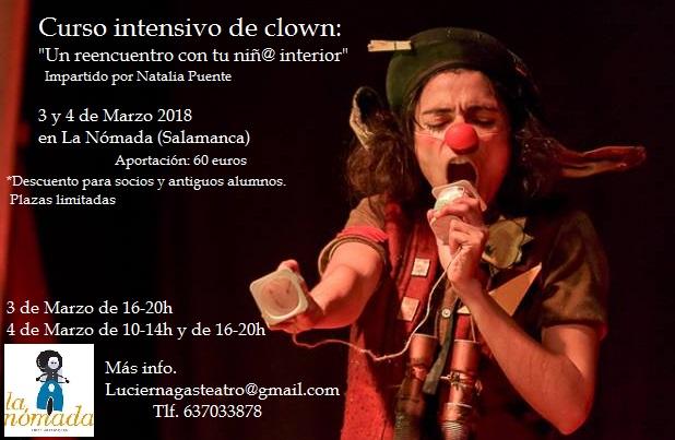 """Curso Intensivo de Clown: """"Un reencuentro con tu niñ@ interior"""""""