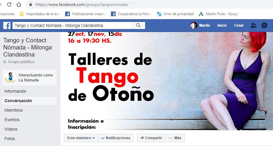 Tango y Contact Nómada