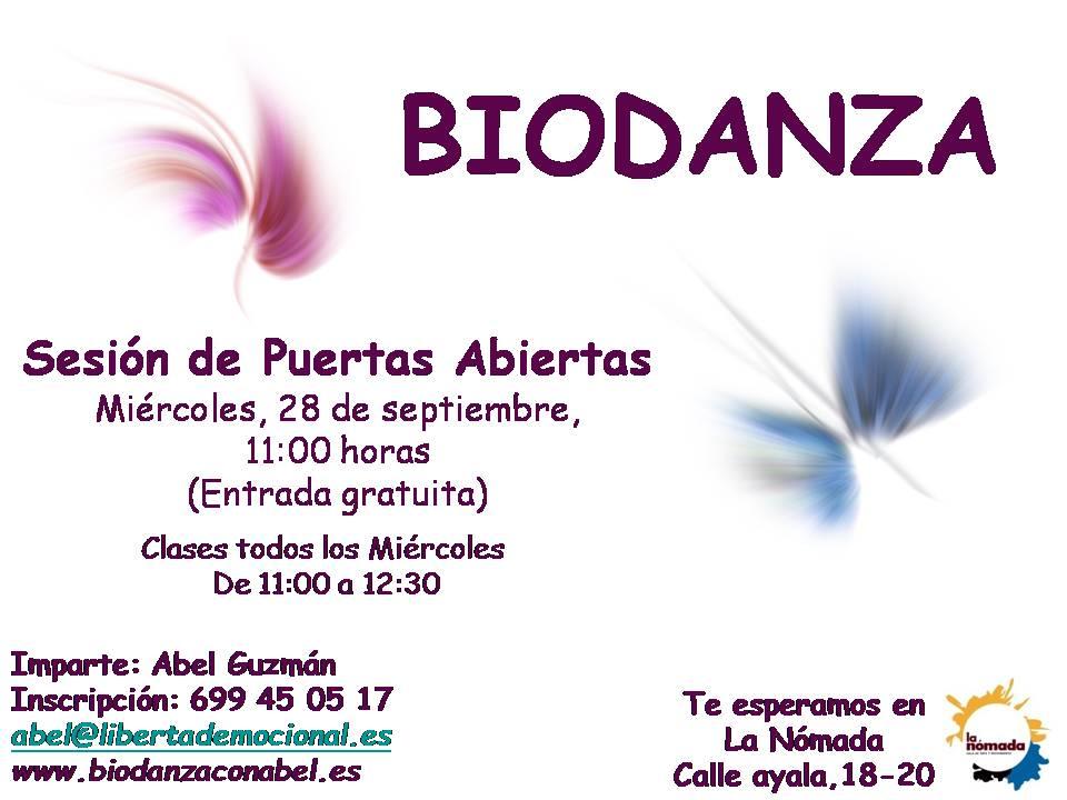 Nuevo inicio del Curso de Biodanza con una Clase Abierta
