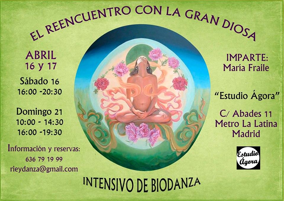 La Gran Diosa en Madrid