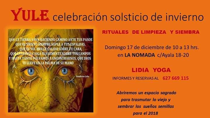 YULE Celebracion del Solsticio de Invierno