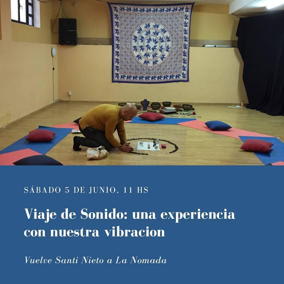 Vuelve Santi Nieto a La Nómada
